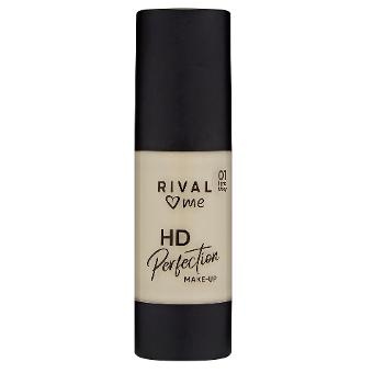 HD Perfection make-up 01 ivory